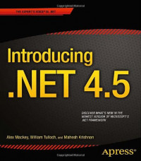 Introducing .NET 4.5