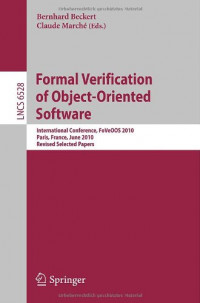 Formal Verification of Object-Oriented Software: International Conference, FoVeOOS 2010