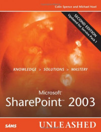 Microsoft® SharePoint 2003 UNLEASHED Second Edition
