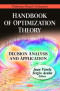 Handbook of Optimization Theory (Mathematics Research Developments Serie)