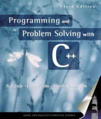 Programming and Problem Solving With C++, Third Edition
