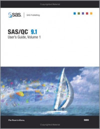 SAS/QC 9.1 User's Guide (3-Volume Set)