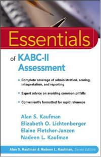 Essentials of KABC II Assessment