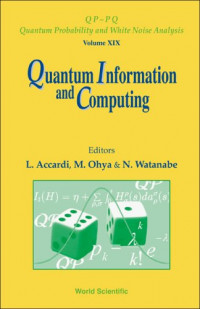 Quantum Information And Computing (Quantum Probability and White Noise Analysis)