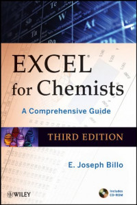 Excel for Chemists, with CD-ROM: A Comprehensive Guide