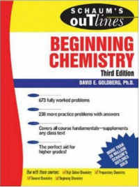 Schaum's Outline of Beginning Chemistry, 3rd edition