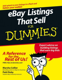 eBay Listings That Sell For Dummies (Computer/Tech)