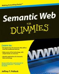 Semantic Web For Dummies (Computer/Tech)