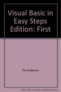 Visual Basic in Easy Steps