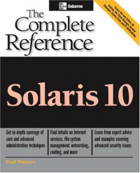 Solaris 10 : The Complete Reference