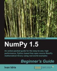 NumPy 1.5 Beginner's Guide