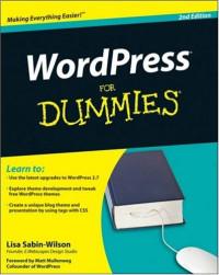 WordPress For Dummies  (Computer/Tech)