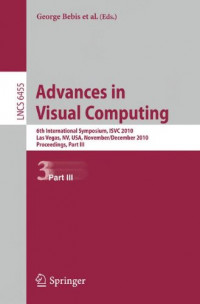 Advances in Visual Computing: 6th International Symposium, ISVC 2010, Part III