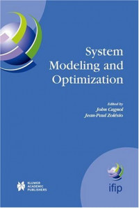 System Modeling and Optimization : Proceedings of the 21st IFIP TC7 Conference