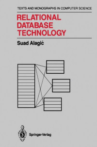 Relational Database Technology (Monographs in Computer Science)