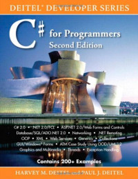 C# for Programmers (2nd Edition)