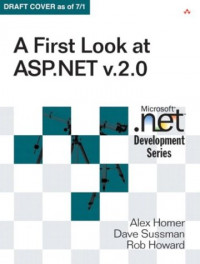 A First Look at ASP.NET v 2.0