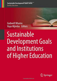 Sustainable Development Goals and Institutions of Higher Education (Sustainable Development Goals Series)