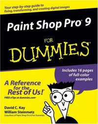 Paint Shop Pro 9 For Dummies (Computer/Tech)