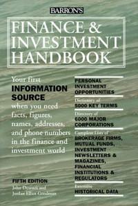 Barron's Finance & Investment Handbook (5th ed)