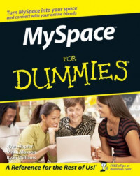MySpace For Dummies (Computers)