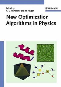 New Optimization Algorithms in Physics