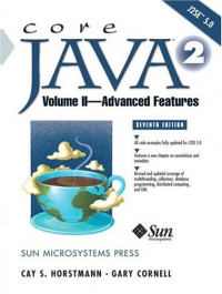 Core Java™ 2 Volume II - Advanced Features, Seventh Edition