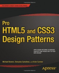 Pro HTML5 and CSS3 Design Patterns (Professional Apress)