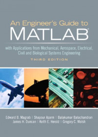 Engineers Guide to MATLAB, An (3rd Edition)