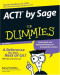 ACT! by Sage For Dummies (Computer/Tech)
