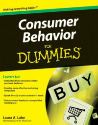 Consumer Behavior For Dummies (Business & Personal Finance)