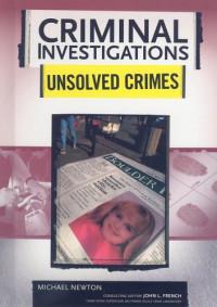 Unsolved Crimes (Criminal Investigations)