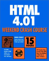HTML 4.01 Weekend Crash Course