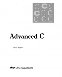 Advanced C / Book and Disk