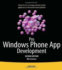 Pro Windows Phone App Development (Professional Apress)