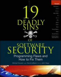 19 Deadly Sins of Software Security (Security One-off)