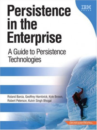 Persistence in the Enterprise: A Guide to Persistence Technologies (developerWorks Series)