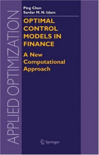 Optimal Control Models in Finance : A New Computational Approach (Applied Optimization)
