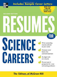Resumes for Science Careers (McGraw-Hill Professional Resumes)