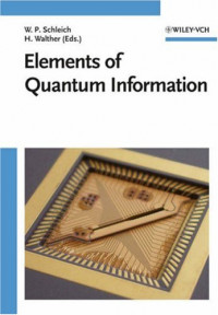 Elements of Quantum Information