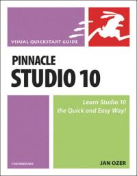 Pinnacle Studio 10 for Windows : Visual QuickStart Guide