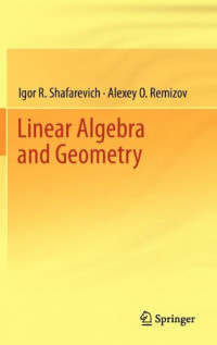 Linear Algebra and Geometry