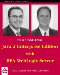 Professional J2EE Programming with BEA WebLogic Server