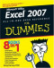 Excel 2007 All-In-One Desk Reference For Dummies (Computer/Tech)