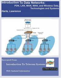 Introduction To Data Networks, Pdn, Lan, Man, Wan, And Wireless Data, Technologies And Systems