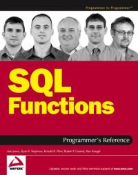 SQL Functions Programmer's Reference (Programmer to Programmer)