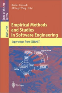 Empirical Methods and Studies in Software Engineering: Experiences from ESERNET