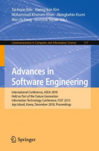 Advances in Software Engineering: International Conference, ASEA 2010