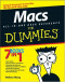 Macs All-in-One Desk Reference For Dummies (Computer/Tech)