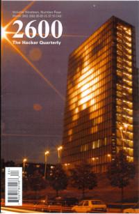 2600: The Hacker Quarterly, Winter 2002-2003